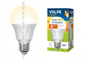 Volpe LED-A60-8W/WW/E27/FR/S