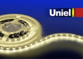Uniel ULS-5050-60LED/m-10mm-IP33-DC12V-14,4W/m-5M-WW